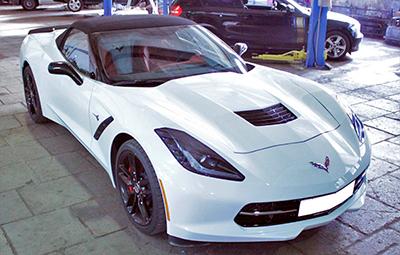 Оклейка пленкой Chevrolet Corvette Stingray