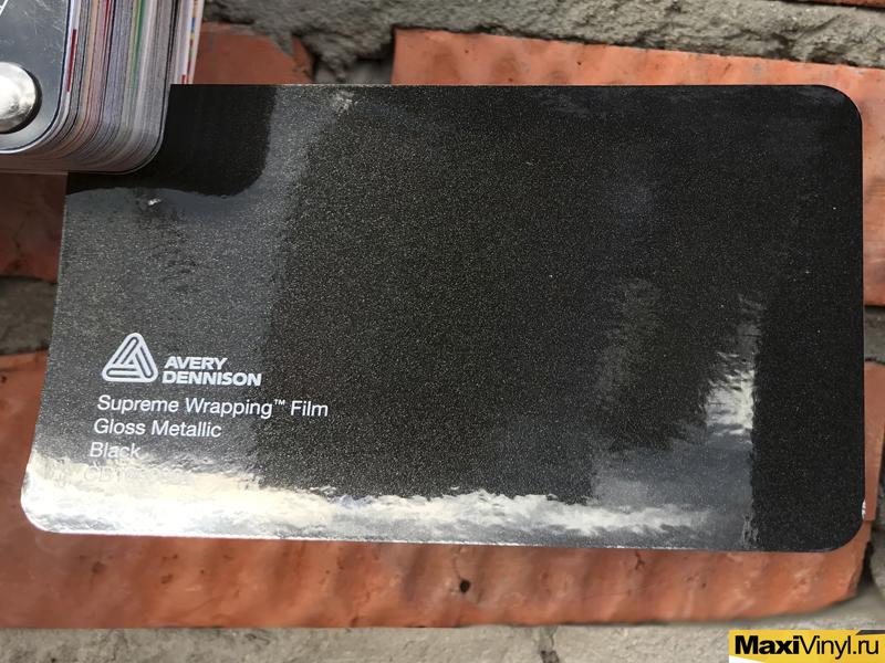 пленка металлик на авто