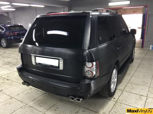 Полная оклейка Range Rover Vogue пленкой 3M