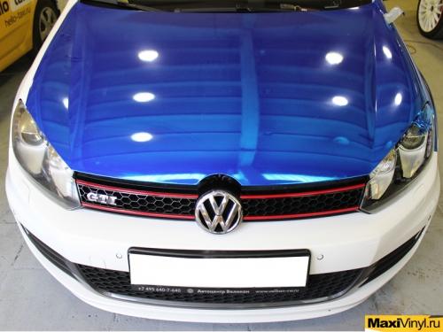 Оклейка хромом Volkswagen Golf GTI