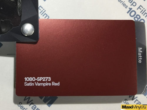1080-SP273 Satin Vampire Red