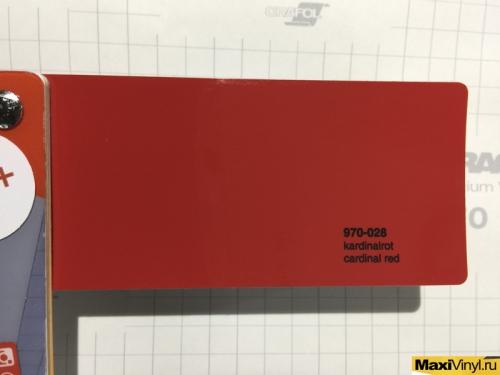 970-028 cardinal red