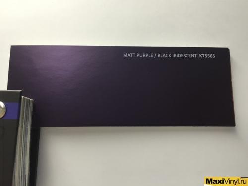 MATT PURPLE BLACK IRIDESCENT K75565