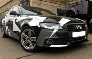 Камуфляж на Audi A4