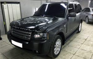 Полная оклейка пленкой 3M Range Rover Vogue