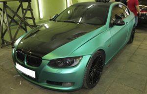 Полная оклейка плёнкой TeckWrap BMW 3 серии