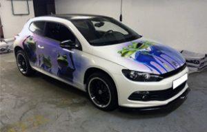 Винилография на VW Scirocco