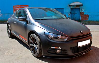 Полная оклейка VW Scirocco