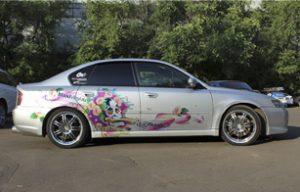 Наклейки для Subaru Legacy