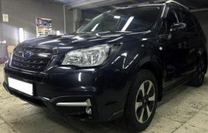 Оклейка передней части на Subaru Forester