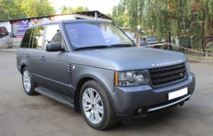 Полная оклейка Range Rover Voque пленкой Arlon