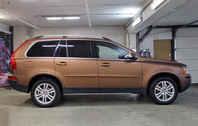 Полная оклейка Volvo XC90 пленкой Arlon Aztec Bronze