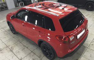 Винилография на крышу Suzuki Vitara