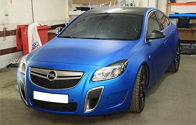 Полная оклейка Opel Insignia OPC пленкой Arlon