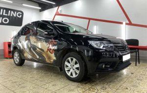 Винилография на Renault Logan