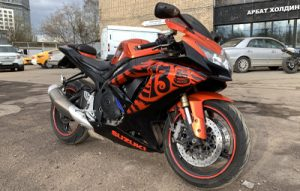 Винилография на мотоцикл Suzuki GSX-R K7 600