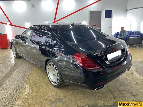 Полный антихром Mercedes-Benz W222 Maybach
