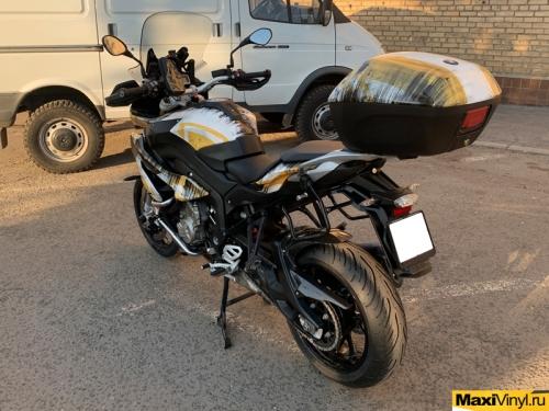 Винилография на мотоцикл BMW S1000XR