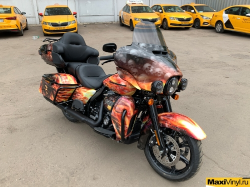Винилография на Harley-Davidson Electra Glide