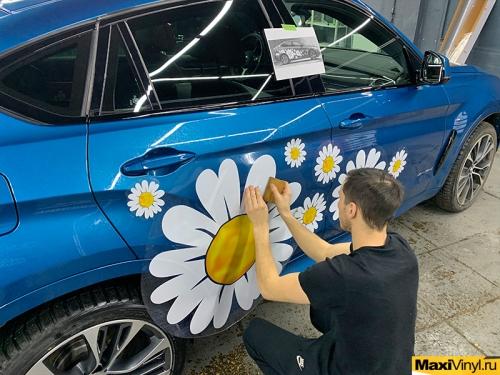 Наклейки на BMW X6