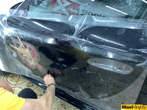 Наклейки на Porshe GT2 RS