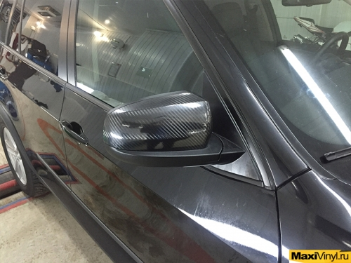 Оклейка передней части BMW X5 E70