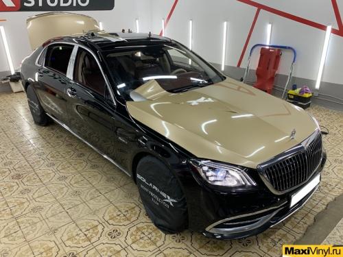 Оклейка верхней части Mercedes-Benz Maybach