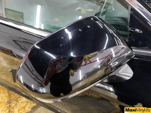 Оклейка передней части Toyota Camry в Suntek