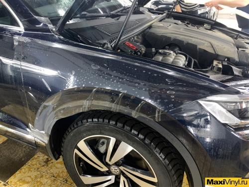 Оклейка передней части VW Touareg в Sunmax PPF