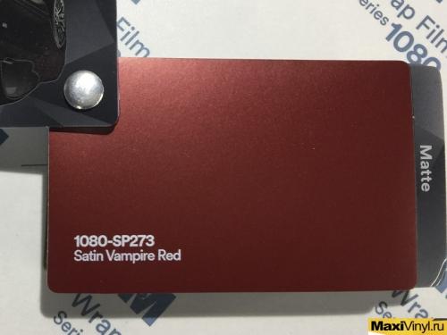 1080-SP273 Satin Vampire Red
