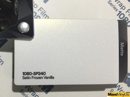 1080-Sp240 Satin Frozen Vanilla