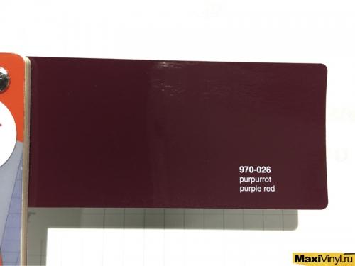 970-026 purple red