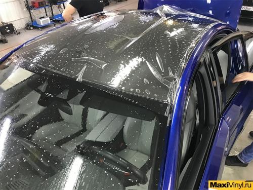 Полная оклейка BMW M5 F90 в полиуретан