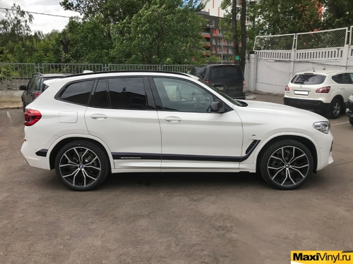 Полосы M Performance на BMW X3