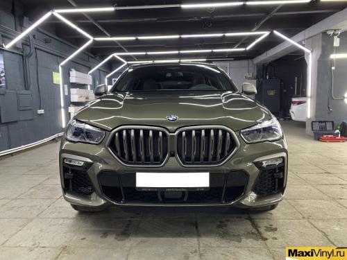 Полная оклейка BMW X6 G06 в полиуретан