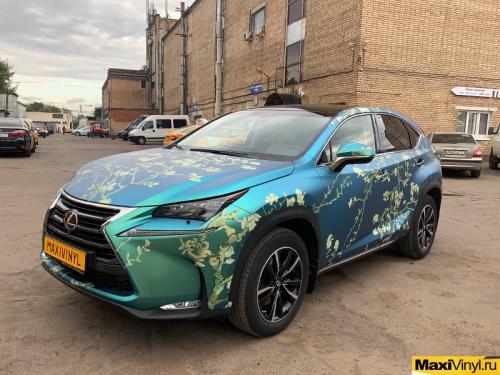 Винилография на Lexus NX Ван Гог