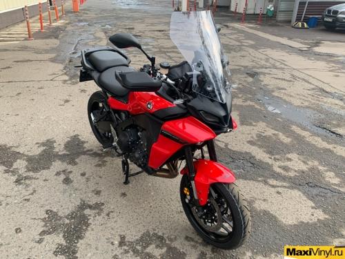 Оклейка мотоцикла Yamaha MT-09 в полиуретан