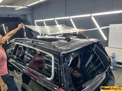 Полная оклейка Volvo XC70 в полиуретан