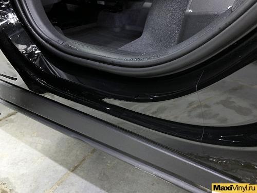 Частичная оклейка защитной пленкой Volvo XC40